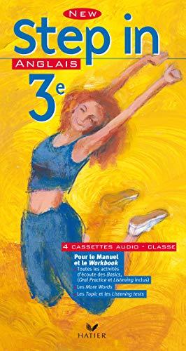 9782218741517: New Step In : Anglais, 3e LV1 (coffret 4 cassettes pour la classe)