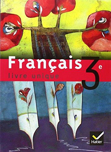 9782218742903 Livre Unique Francais 3e Manuel