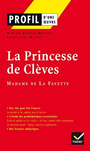 9782218744051: Profil d'une oeuvre: La princesse de Cleves