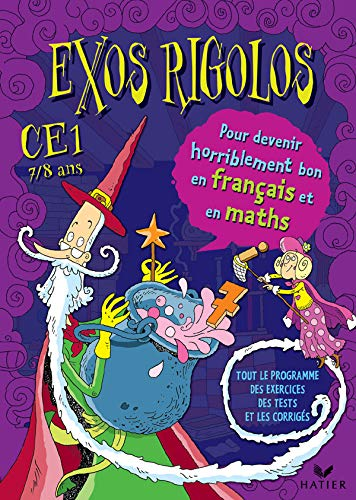 9782218744662: Exos rigolos : Mathématiques, Français, CE1 (Cahier d'activités, autocollants)