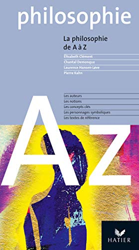 9782218746192: La Philosophie De a a Z Fl (French Edition)