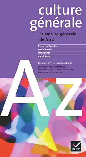9782218746208: Culture générale de A à Z, 2004