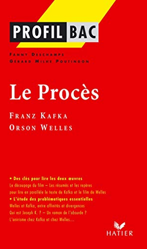 9782218747687: Profil D'Une Oeuvre: Kafka (French Edition)