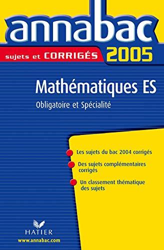 9782218747892: Mathématiques ES