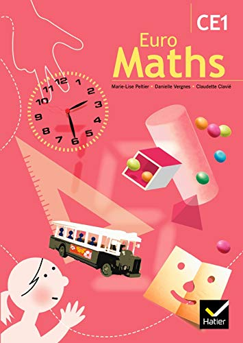 9782218749162: EuroMaths CE1 (French Edition)