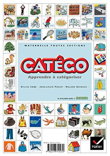 9782218749230: Catégo, maternelle toutes sections : Apprendre à catégoriser