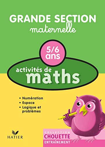 9782218749285: Activites De Maths (Grande Section Maternelle) (French Edition)