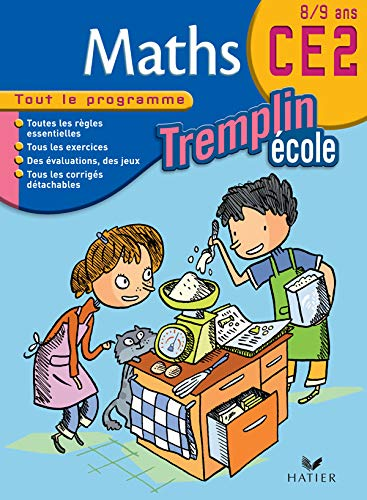 9782218750205: Tremplin Ecole: Maths Ce2 (French Edition)
