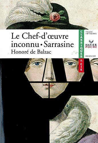 9782218750724: Le Chef-d'Oeuvre Inconnu/Sarrasine (French Edition)