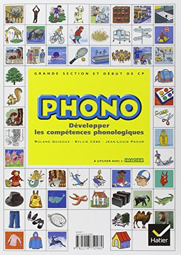 9782218750960: Phono - gs-CP ed. 2004 - guide pedagogique (Primaire)