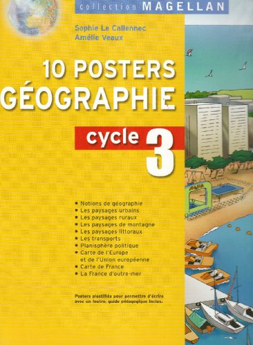 9782218751011: Magellan - Geographie Cycle 3, 10 Posters (French Edition)