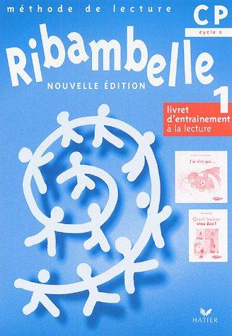 9782218751035: Ribambelle CP - Livret d'Entrainement a la Lecture, Serie Bleue Nouvelle Édition (Non Vendu Seul)