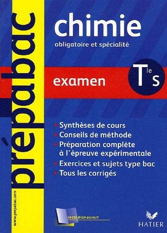 9782218751417: Chimie Tle S : Examen