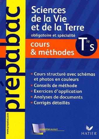 9782218751615: Sciences de la Vie et de la Terre Tle S : Cours & méthodes