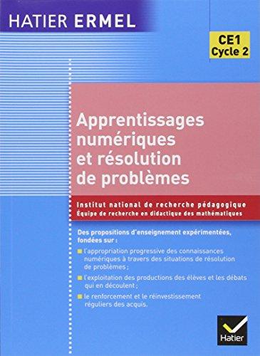 9782218920349: Apprentissages numériques et résolution de problèmes CE1