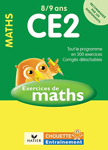 9782218920936: Exercices De Maths Ce2 8-9 Ans (French Edition)