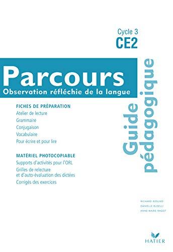 9782218921933: Parcours CE2 : Guide pédagogique