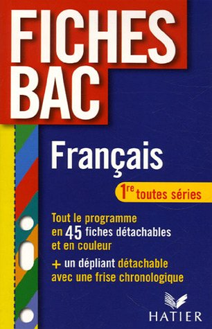 9782218922800: Fran�ais 1e
