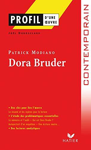 9782218923319: Profil d'une oeuvre: Dora Bruder