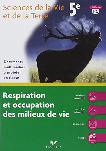 9782218924248: Svt 5e Respiration et Occupation des Milieux de Vie - CD-ROM PC