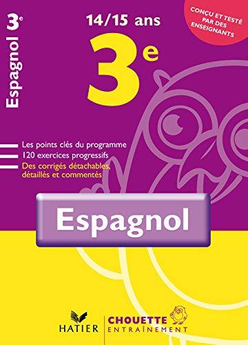 9782218924774: Espagnol 3e : 14/15 ans