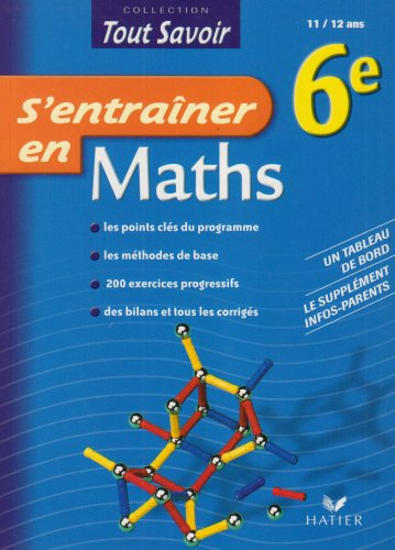 9782218925214: Maths 6e (French Edition)