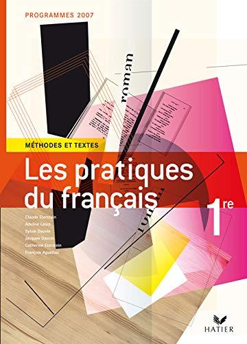 9782218925733: Les Pratiques du français 1e