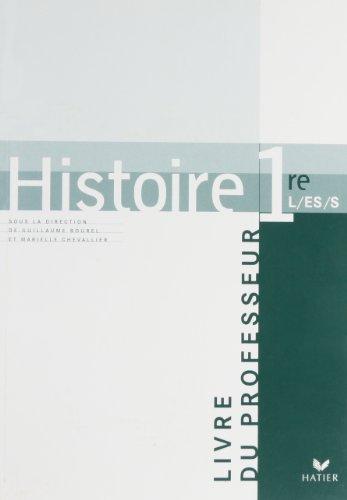 9782218926105: Histoire 1e L-ES-S : Livre du professeur