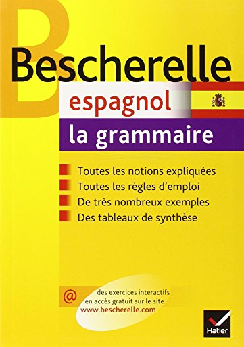 9782218926211: Bescherelle: Espagnol/Grammaire (French Edition)