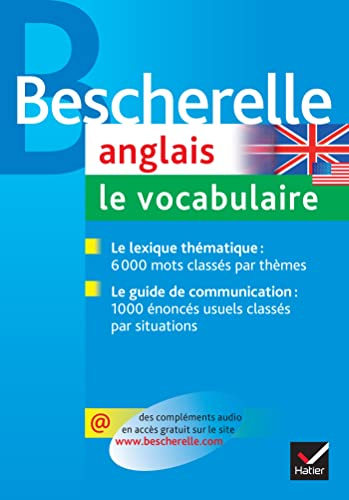9782218926228: Bescherelle: Anglais/Vocabulaire (French Edition)