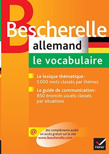 9782218926235: Bescherelle: Allemand/Vocabulaire (French Edition)