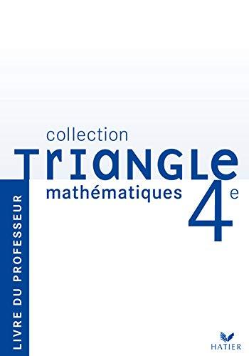 9782218926846: Mathématiques 4e : Livre du professeur