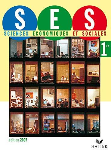 Science Economiques Et Sociales 1 re -: Didier Anselm; Joelle