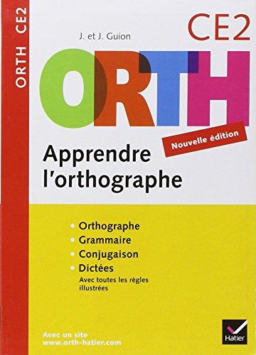 9782218930157: Apprendre l'orthographe CE2