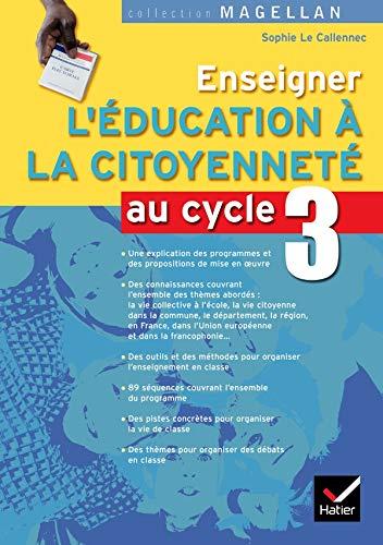 9782218931260: Enseigner l'éducation à la citoyenneté cycle 3