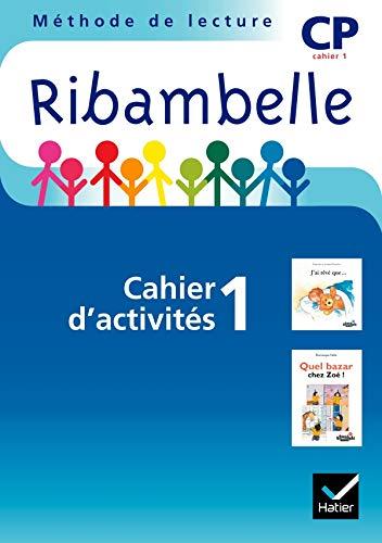 9782218931277: Ribambelle CP Serie Bleue 2008, Cahier d'Activites N 1 (Non Vendu Seul)