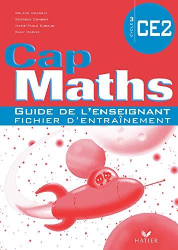 9782218931345: Cap Maths CE2 : Guide de l'enseignant fichier d'entraînement