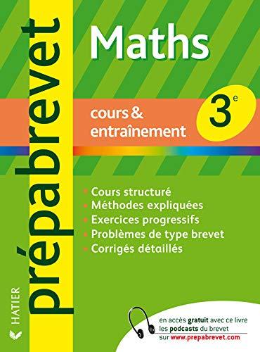 9782218932021: Mathématiques 3e : Cours & entraînement