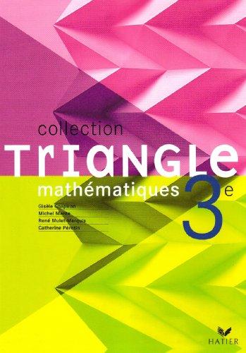 9782218934339: Mathématiques 3e : Livre de l'élève (version rigide)