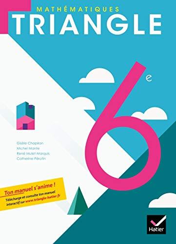 mathématiques ; 6ème ; livre de l'élève format compact: HATIER