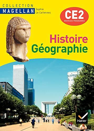 9782218935275: Magellan histoire-geographie CE2 ed. 2009 - manuel de l'eleve + atlas