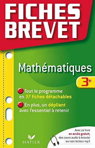 9782218935336: Mathématiques 3e