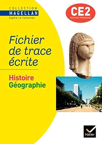 9782218936043: Magellan - Histoire-Geographie CE2, Fichier de Trace Ecrite Edition 2009