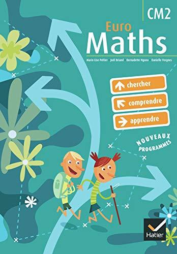 9782218936241: Euro Maths : Cycle des approfondissements, CM2, avec un aide-mémoire