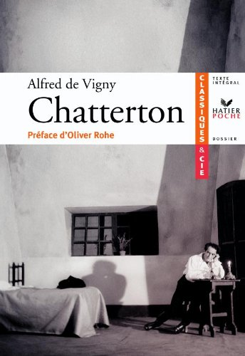 9782218938016: Chatterton (French Edition)