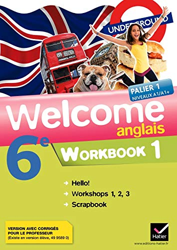 9782218938078: Welcome Anglais 6e ed. 2011, Workbook en 2 Volumes (Version Corrigee Enseignant)