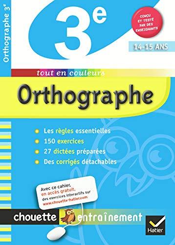 9782218938535: Orthographe 3e