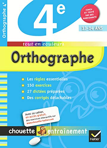 9782218938542: Chouette Orthographe 4e (French Edition)