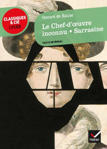 9782218939525: Le Chef-D'Oeuvre Inconnu/Sarrasine (French Edition)