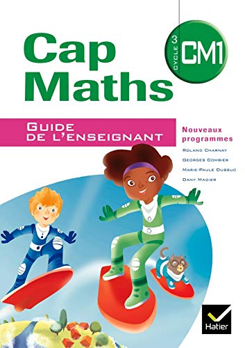 9782218943362: CAP Maths CM1, Cycle 3 : Guide enseignant